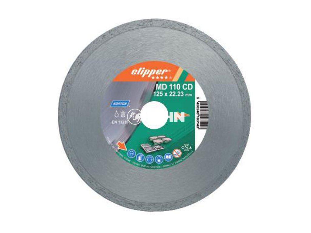 Diamantový kotouč MD 110 CD  průměr 125mm (pro úhlové brusky)