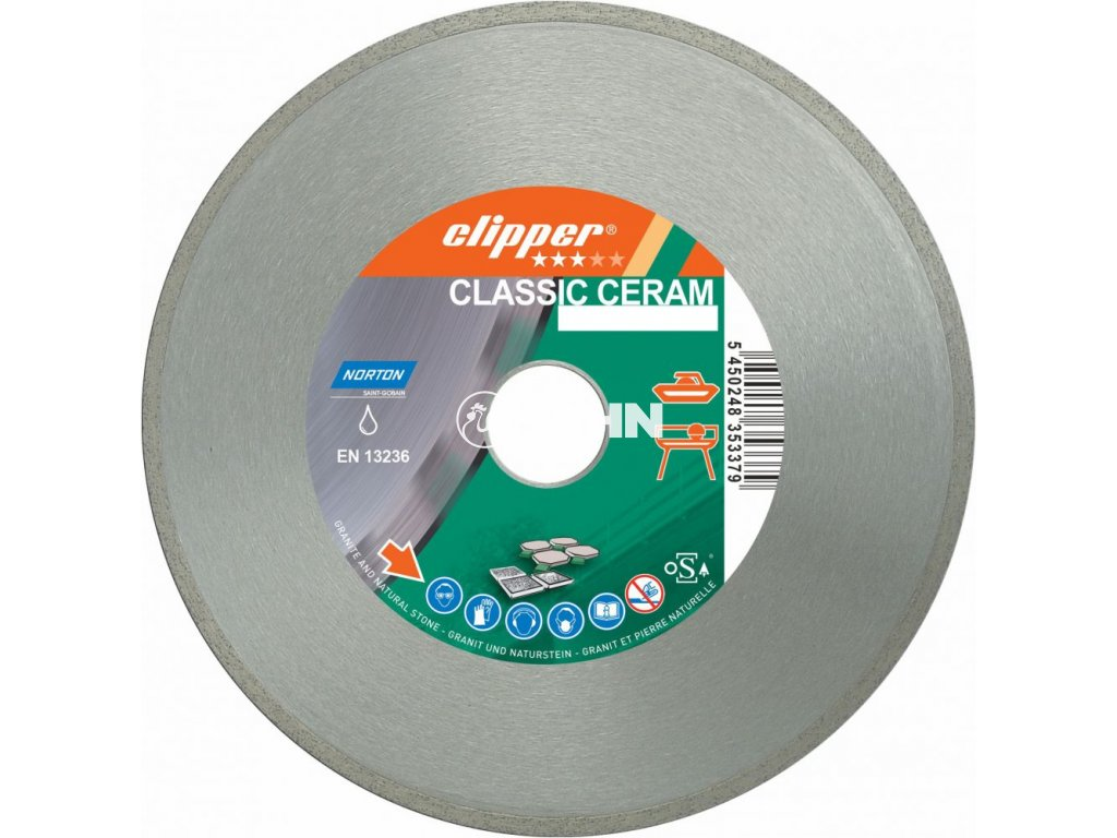 Diamantový kotouč CLASSIC CERAM průměr 200mm (pro obkladačské a kamenické pily)