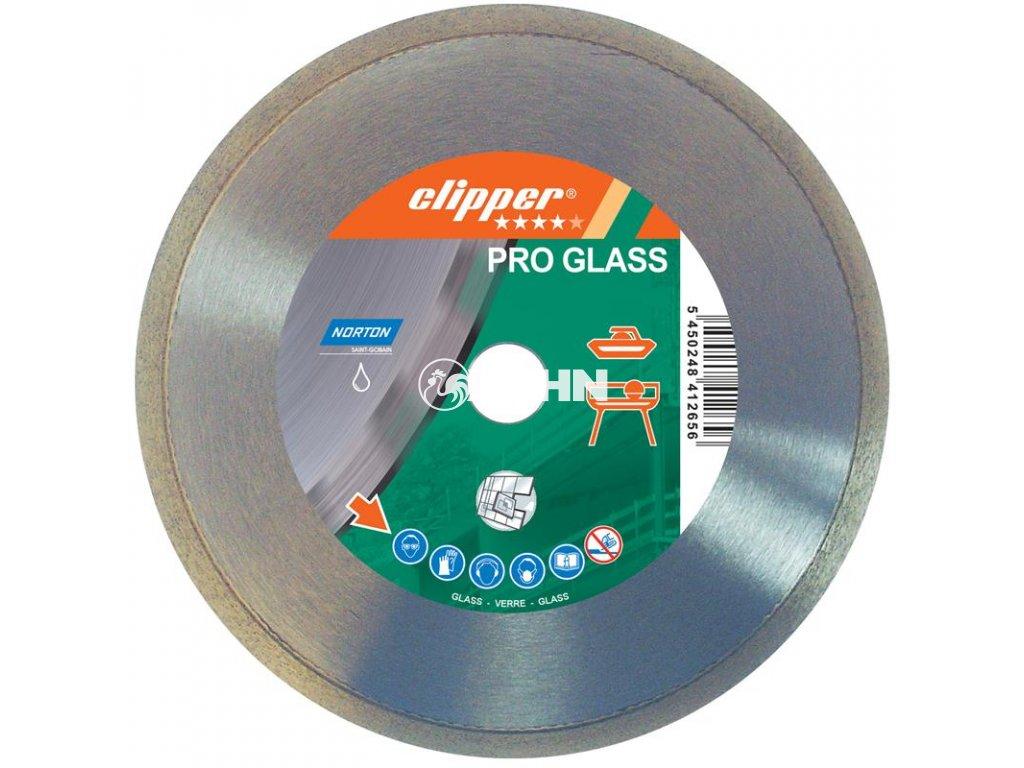 Diamantový kotouč PRO GLASS průměr 250mm (pro obkladačské a kamenické stolní pily)