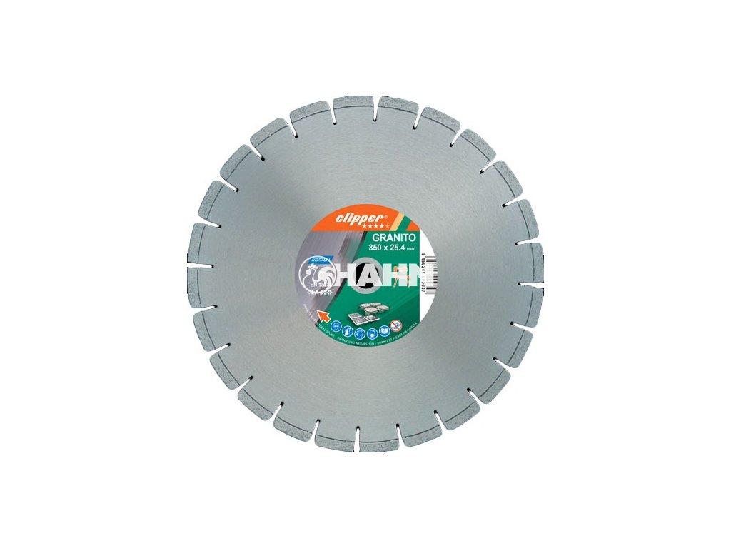 Diamantový kotouč GRANITO průměr 350mm (pro stolní pily)