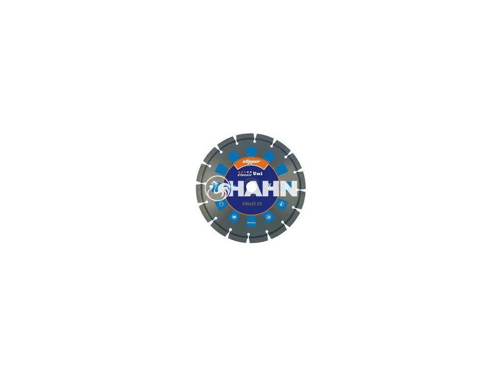 Diamantový kotouč CLASSIC UNI  průměr 115mm (pro úhlové brusky)
