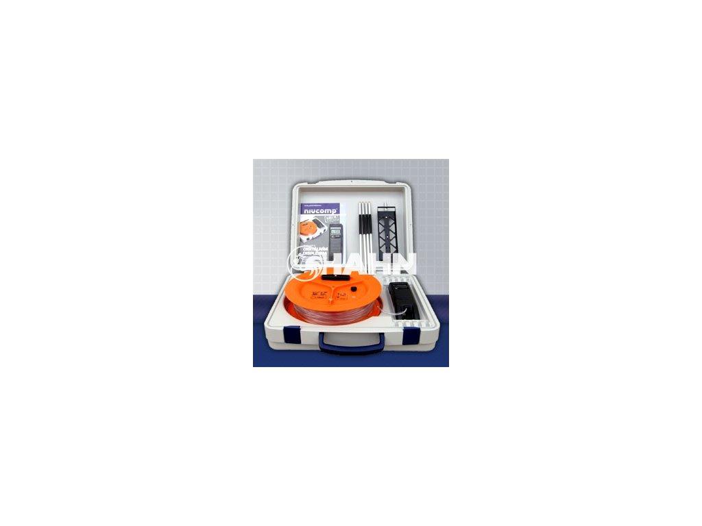 NIVCOMP elektronická hadicová vodováha - nivelace 4 m