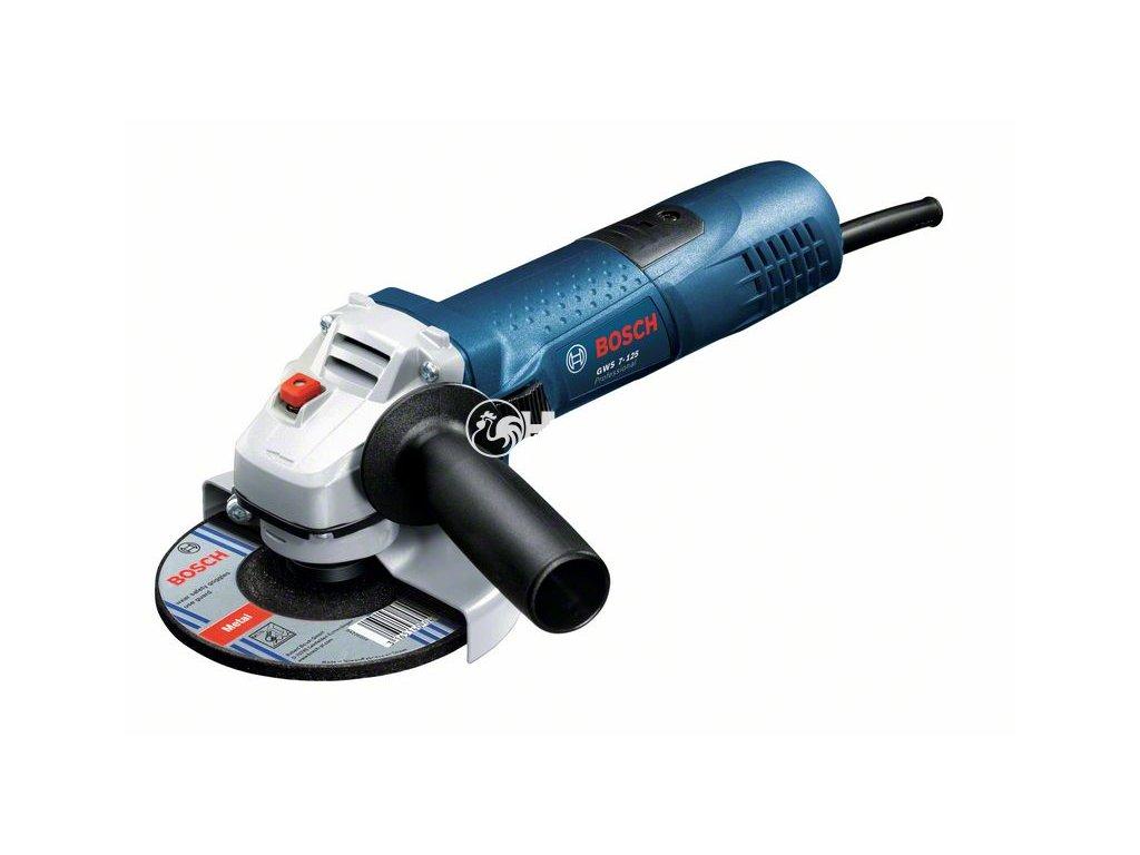 Úhlová bruska Bosch GWS 7-125 Professional - 0601388108