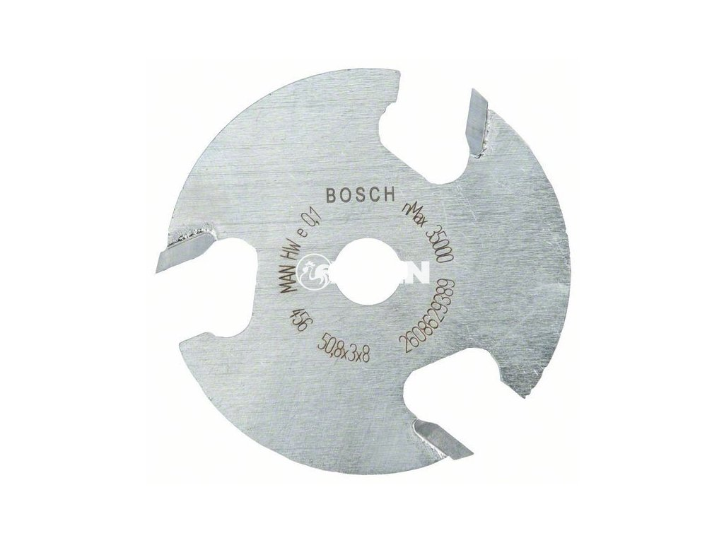 Kotoučová fréza; 8 mm, D1 50,8 mm, L 3 mm, G 8 mm - 3165140802369 BOSCH