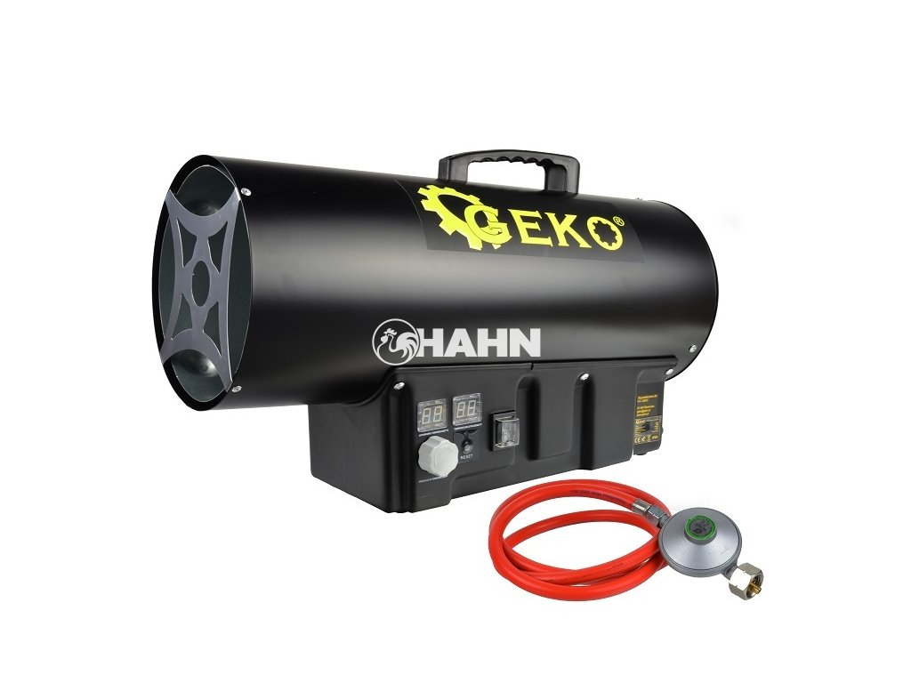 Horkovzdušná plynová turbína s termostatem, 40kW GEKO