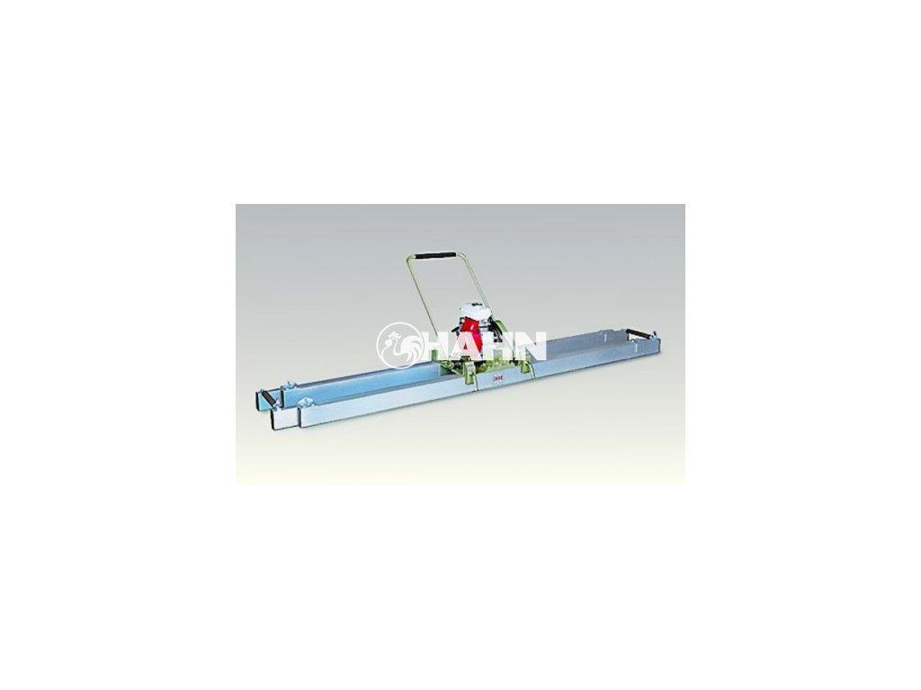 Enar Dvojitá výsuvná lišta 2,5 až 4,5 m ocelová  bez motoru