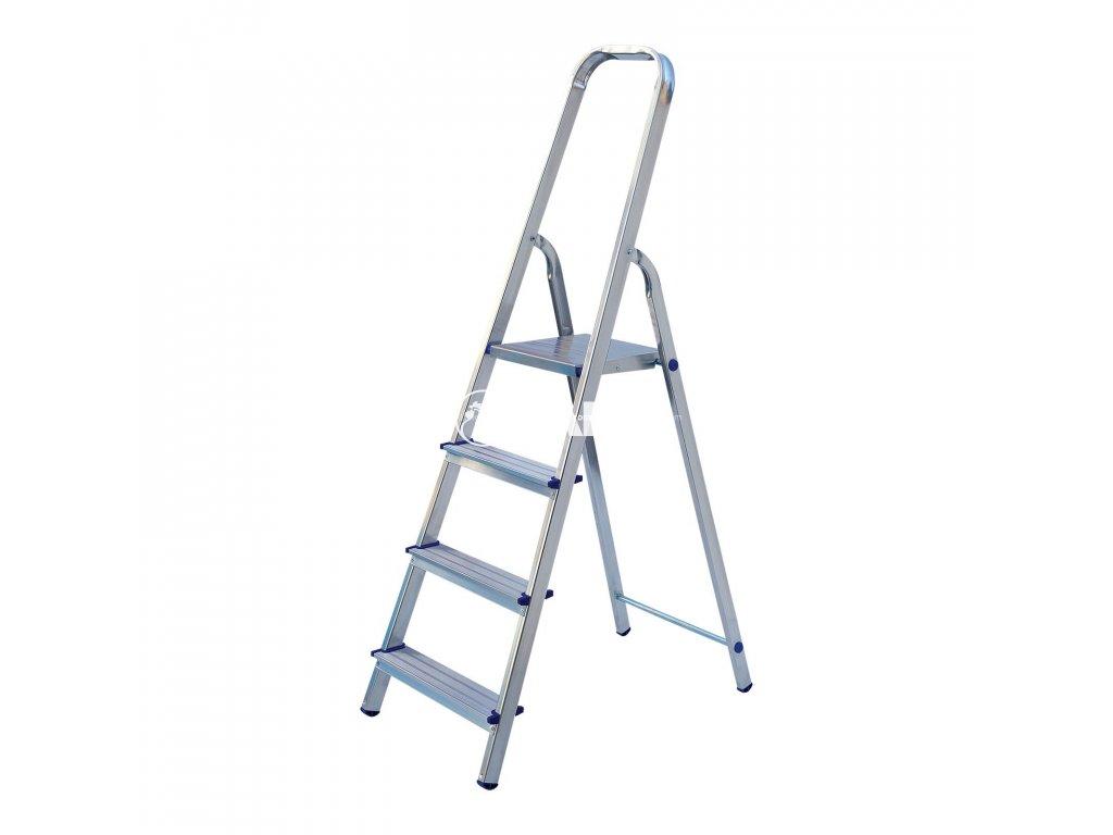 Jednostranné hliníkové schůdky ALW 405