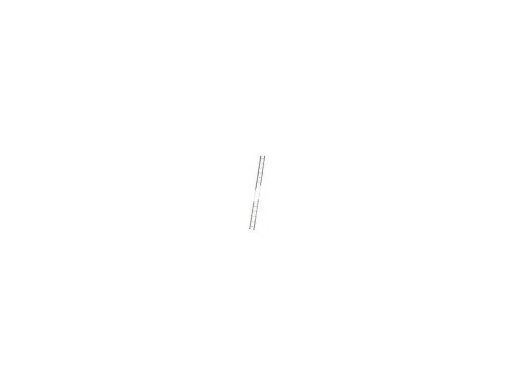 Jednodílný hliníkový žebřík VHR 1x12