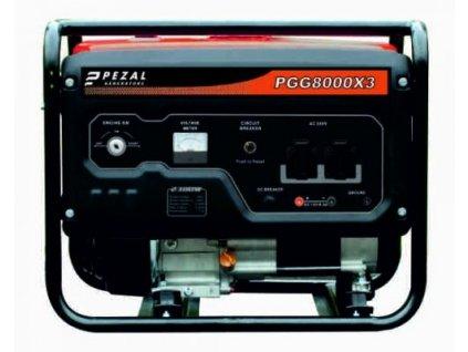 Elektrocentrála PGG8000X3  + +  pro REGISTROVANÉ NOVĚ 3% dolů!