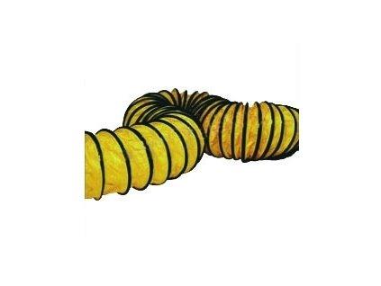 Master Pružná hadice žlutá 340 mm k ventilátoru BLM 6800  PŘI NÁKUPU DVOU A VÍCE KUSŮ SLEVA 10%