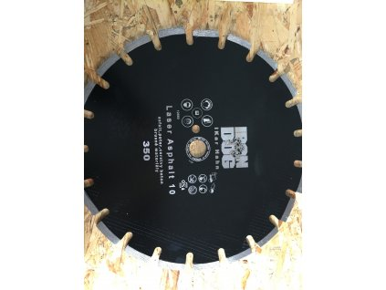 Diamantový kotouč ASFALT 350 - 25,4mm  + +  pro REGISTROVANÉ NOVĚ 3% dolů!