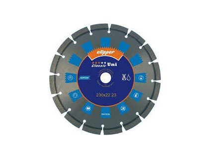 Diamantový kotouč CLASSIC UNI  průměr 230mm (pro úhlové brusky)