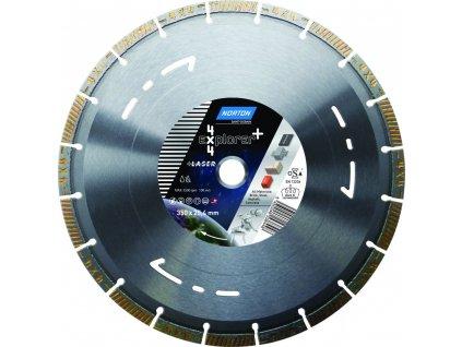 Diamantový kotouč 4x4 EXPLORER průměr 450mm (pro kamenické pily a řezače spár)  + +  pro REGISTROVANÉ NOVĚ 3% dolů!