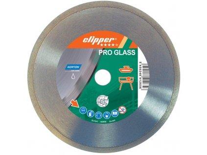 Diamantový kotouč PRO GLASS průměr 200mm (pro obkladačské a kamenické stolní pily)
