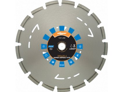 Diamantový kotouč SUPER ASPHALT EVO  průměr 300mm (pro ruční pily a řezače spár)