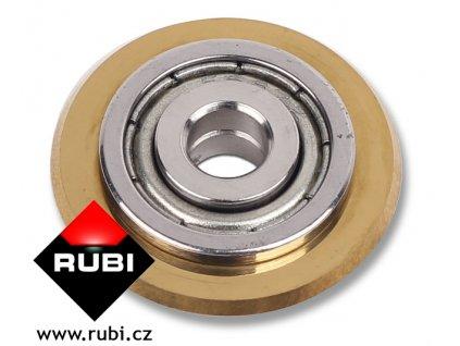 Rubi kolečko 22 mm GOLD s ložiskem pro TP a SLIM CUTTER ( delší životnost )