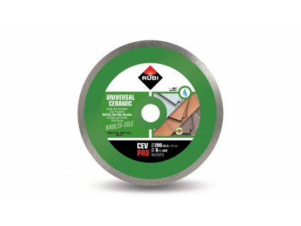 25913 cev 200 pro continuous ceramic tiles diamond blade 1 m