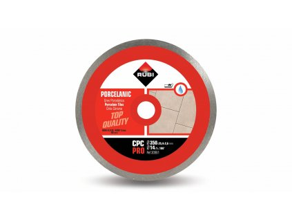 30961 cpc 350 pro continuous porcelain tiles diamond blade 1 m