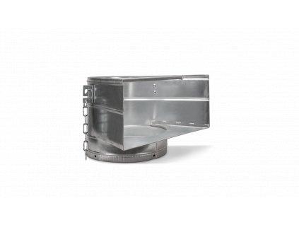 88511 metal top hopper for rubber chute 1 m 1
