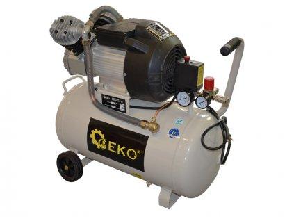 Kompresor olejový dvoupístový, 50l GEKO
