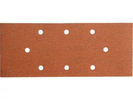 Papír brusný ERSTA, 8 otvorů, typ Black&Decker, 93x230mm, P100, 8 otvorů, typ Black&Deck