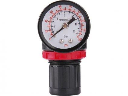 Regulátor tlaku s manometrem, max. prac. tlak 8bar (0,8MPa), EXTOL PREMIUM