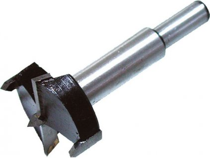 Fréza čelní-sukovník, do dřeva s SK plátky, O 35mm, stopka 10mm, EXTOL CRAFT