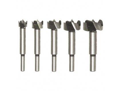 Sada fréz do dřeva 5 ks, průměr stopky fréz 8mm, přesnost +/- 0.02mm, TO-22551 TOYA
