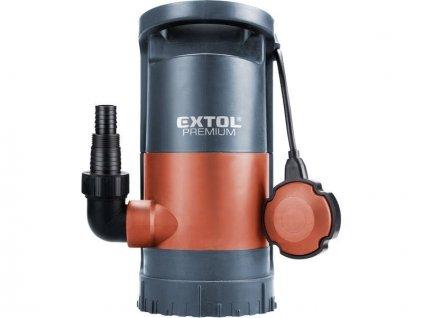 Čerpadlo na znečištěnou vodu 3v1, 900W, 13000l/h, 10m, EXTOL PREMIUM, SP 900, 8895013  + +  pro REGISTROVANÉ NOVĚ 3% dolů!