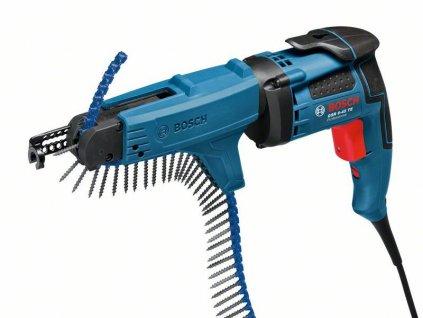 Sádrokartonářský šroubovák Bosch GSR 6-45 TE + MA 55 Professional, 0601445101