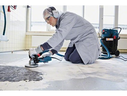 Elektrická bruska na beton Bosch GBR 15 CA Professional, 1.500 W, 0601776000