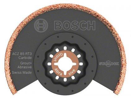 Tvrdokovem osazený segmentový pilový kotouč stvrdokovovými zrny RIFF ACZ 85 RT3 - 85 mm - BOSCH
