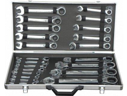 Sada ráčnových klíčů, 22ks, 6-32mm, GEKO
