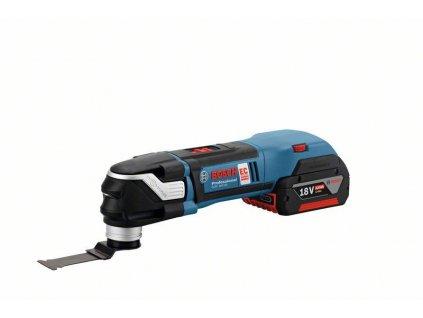 Aku multifunkční nářadí Bosch GOP 18 V-28 Professional (2x2,0 Ah; LB; AC), 06018B6000
