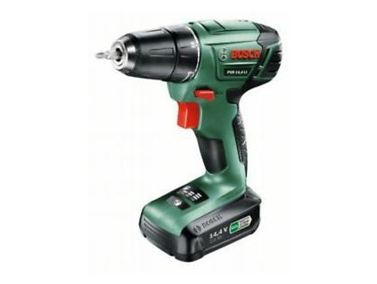 Aku vrtací šroubovák PSR 14,4 LI Bosch (baterie, nabíječka), 0603954322