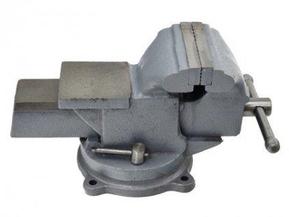 "Svěrák otočný s kovadlinou, 200mm/8"", 39kg, GEKO"