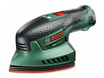 Aku multibruska Bosch EasySander 12 (baterie 2,5 Ah, nabíječka), 0603976909