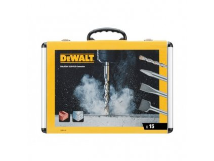 DEWALT DT9679 15 dílná sada vrtáků a sekáčů SDS-Plus