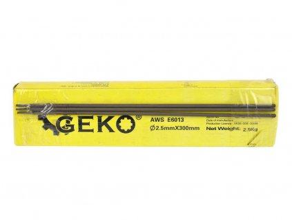 Elektrody svařovací, 2,5x300 mm, svařovací proud 60-90A, růžové, GEKO