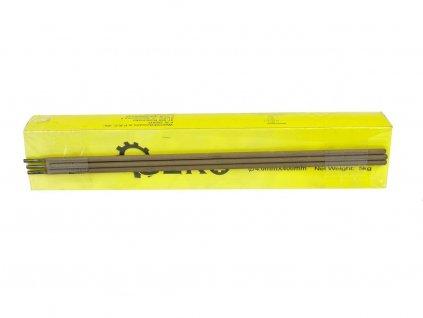Elektrody svařovací, 4x400 mm, svařovací proud 150-190A, růžové, GEKO