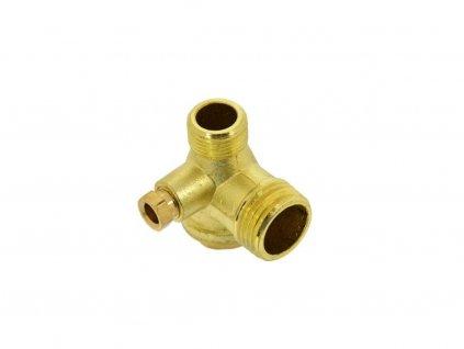 "Zpětný ventil kompresoru 1/2""xM14x1/4"" - náhradní díl, GEKO"