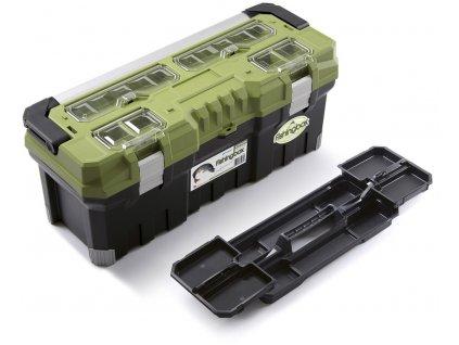 """Plastový kufr, rybářský box 30"""", nosnost 30 kg, FISHINGBOX, poškozený kufr Prosperplast  + +  pro REGISTROVANÉ NOVĚ 3% dolů!"""