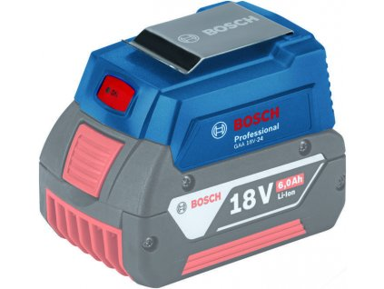 Nabíječka USB GAA 18V-24 Bosch, 1600A00J61  + +  pro REGISTROVANÉ NOVĚ 3% dolů!