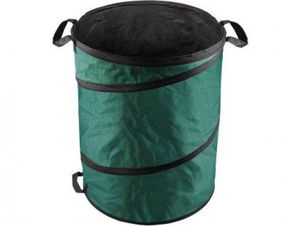 Koš skládací na listí a zahradní odpad, 55x72cm, 170L, 3 držadla, PE, EXTOL CRAFT