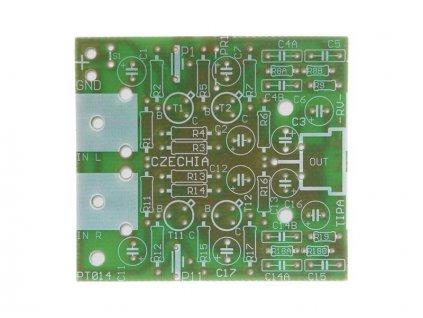Plošný spoj TIPA PT014 Předzesilovač pro gramofon s magnetodynamickou přenoskou
