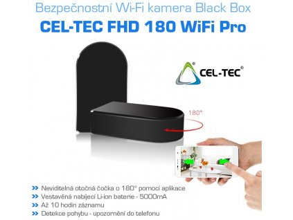Bezpečnostní IP kamera CEL-TEC FHD 180 WiFi