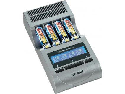 Nabíječka Charge Manager 420 + 4 akumulátory AA 2700 mAh, 3 roky záruka VOLTCRAFT