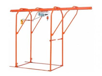 Portálová konstrukce pro stavební vrátky Umacon IBER