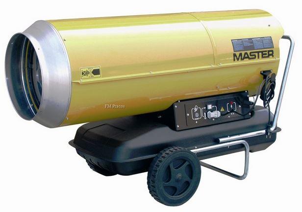 Master B 230 mobilní naftové topidlo