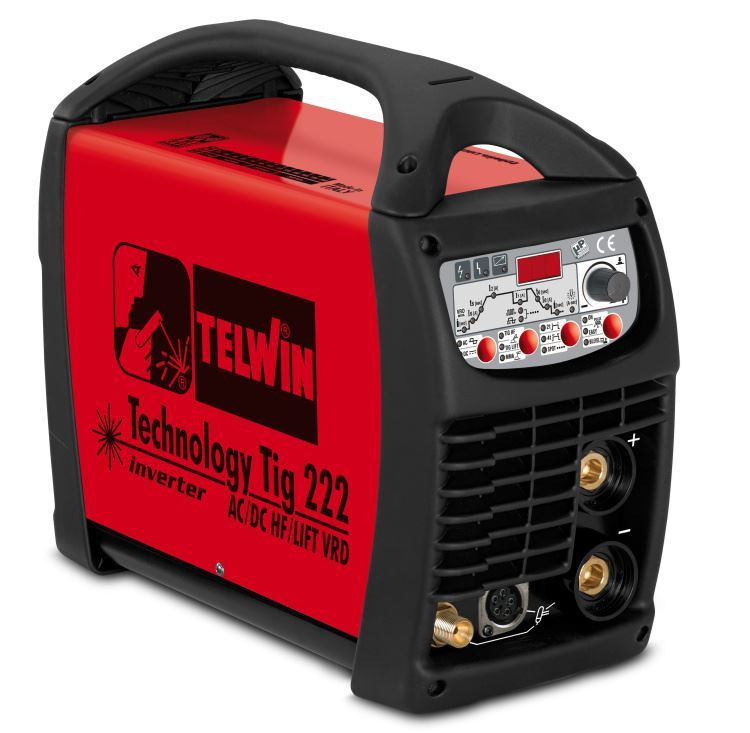 Technology TIG 222 AC/DC - HF/LIFT Telwin